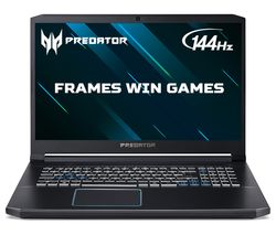 "ACER Predator Helios 300 17.3"" Gaming Laptop - Intel® Core™ i7, GTX 1660 Ti, 1 TB HDD & 256 GB SSD"