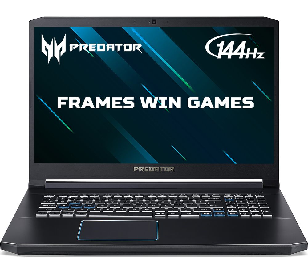 "Image of ACER Predator Helios 300 17.3"" Gaming Laptop - Intelu0026regCore™ i7, GTX 1660 Ti, 1 TB HDD & 256 GB SSD"
