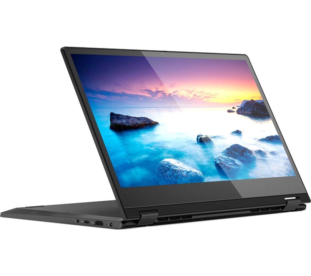 "LENOVO IdeaPad C340 14"" AMD Ryzen 3 2 in 1 Laptop - 128 GB SSD, Black"
