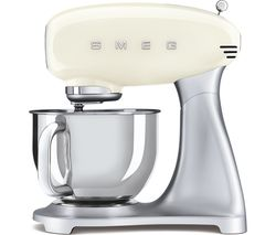 SMEG 50's Retro SMF02CRUK Stand Mixer - Cream