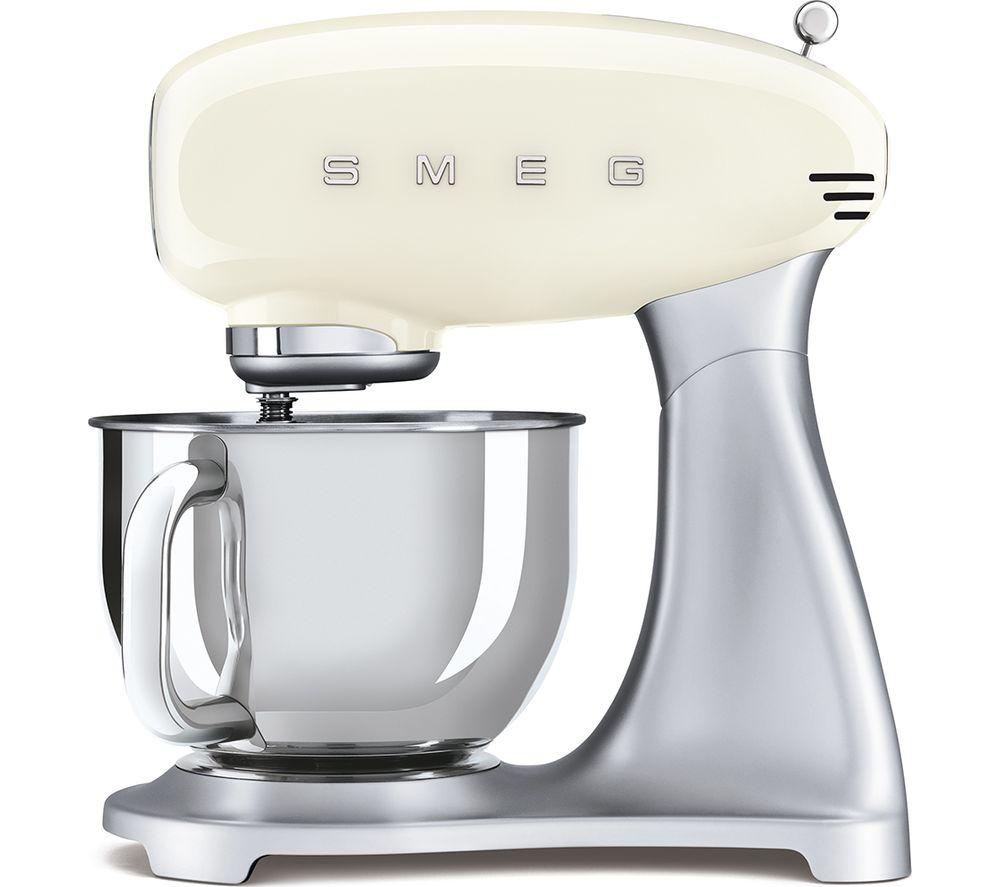 Image of 50's Retro SMF02CRUK Stand Mixer - Cream, Cream