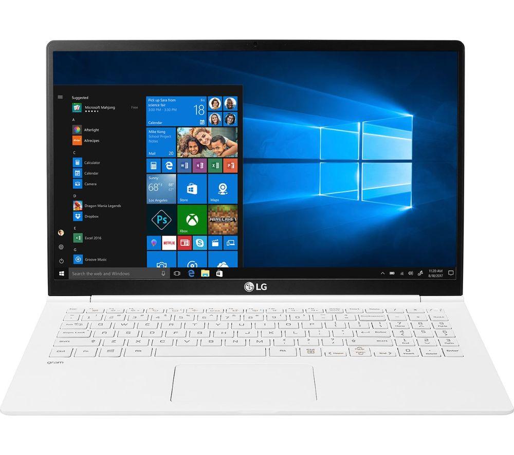 """LG GRAM 15Z990 15.6"""" Intel® Core™ i7 Laptop - 512 GB SSD, White"""