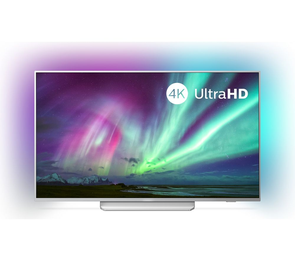 "PHILIPS Ambilight 65PUS8204/12 65"" Smart 4K Ultra HD HDR LED TV with Google Assistant"