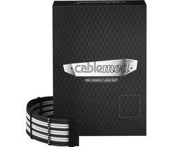 ModMesh C-Series Corsair AXi HXi RM Cable Kit - Black & White