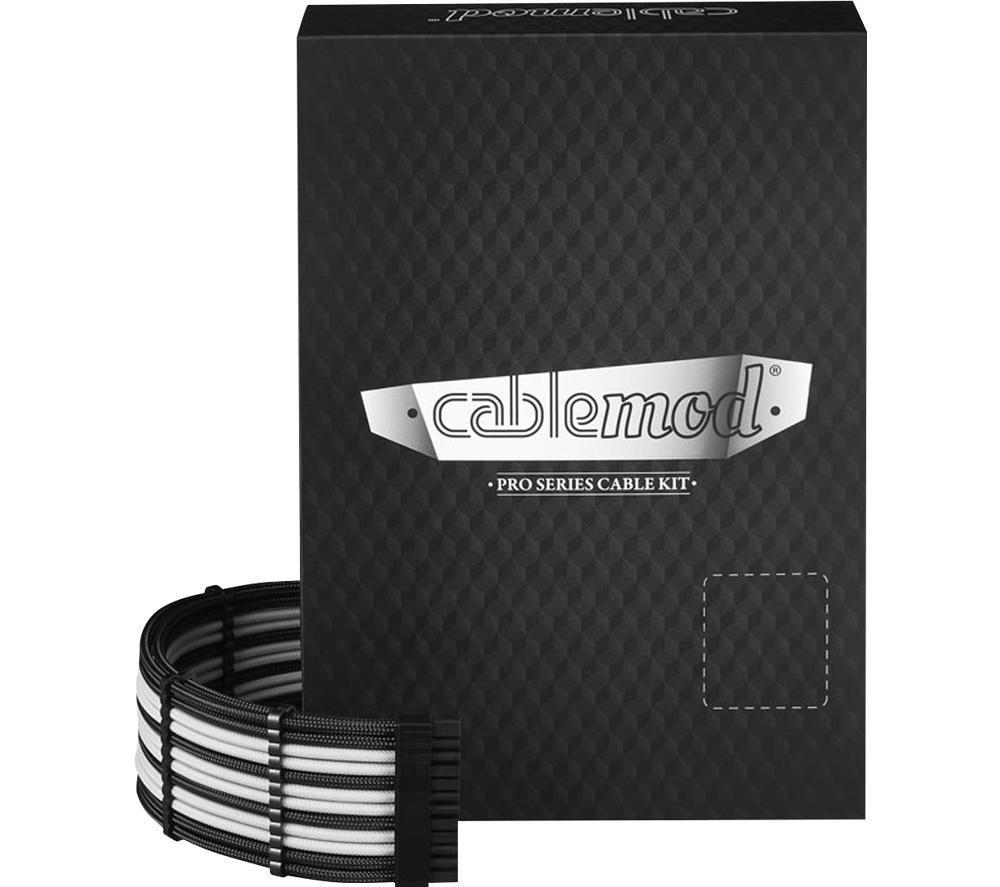 CABLEMOD ModMesh C-Series Corsair AXi HXi RM Cable Kit - Black & White