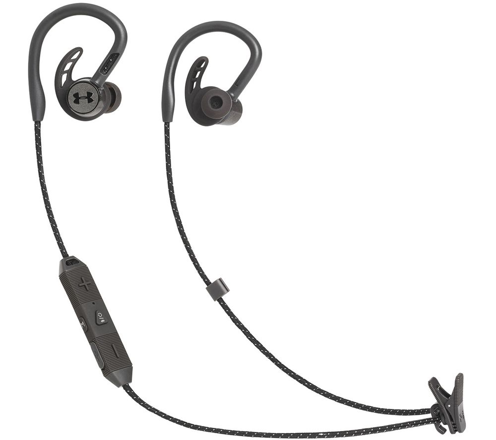 JBL Under Armour Pivot Wireless Bluetooth Sports Earphones - Black
