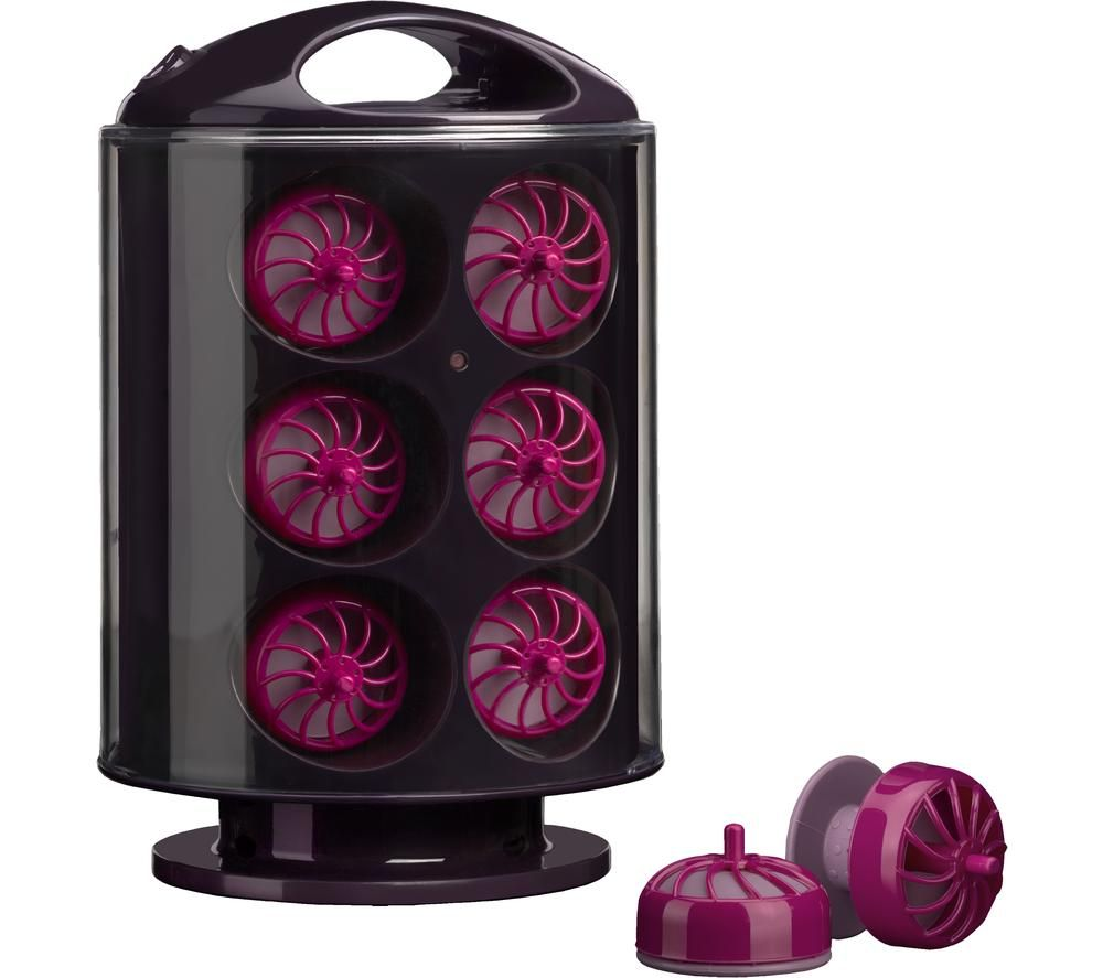 3663U Hair Rollers - Purple, Purple