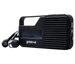 Rio GV-DR01-BK Portable Radio - Black