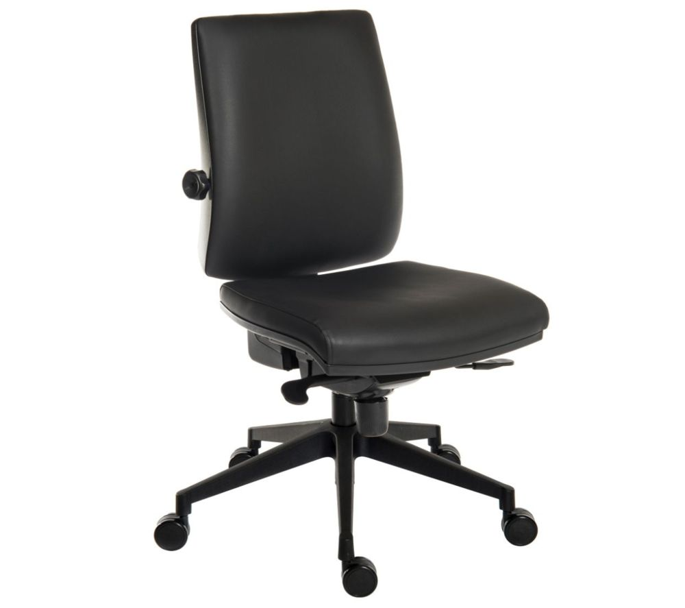 TEKNIK Ergo Plus Ultra Faux-Leather Operator Chair - Leather Look