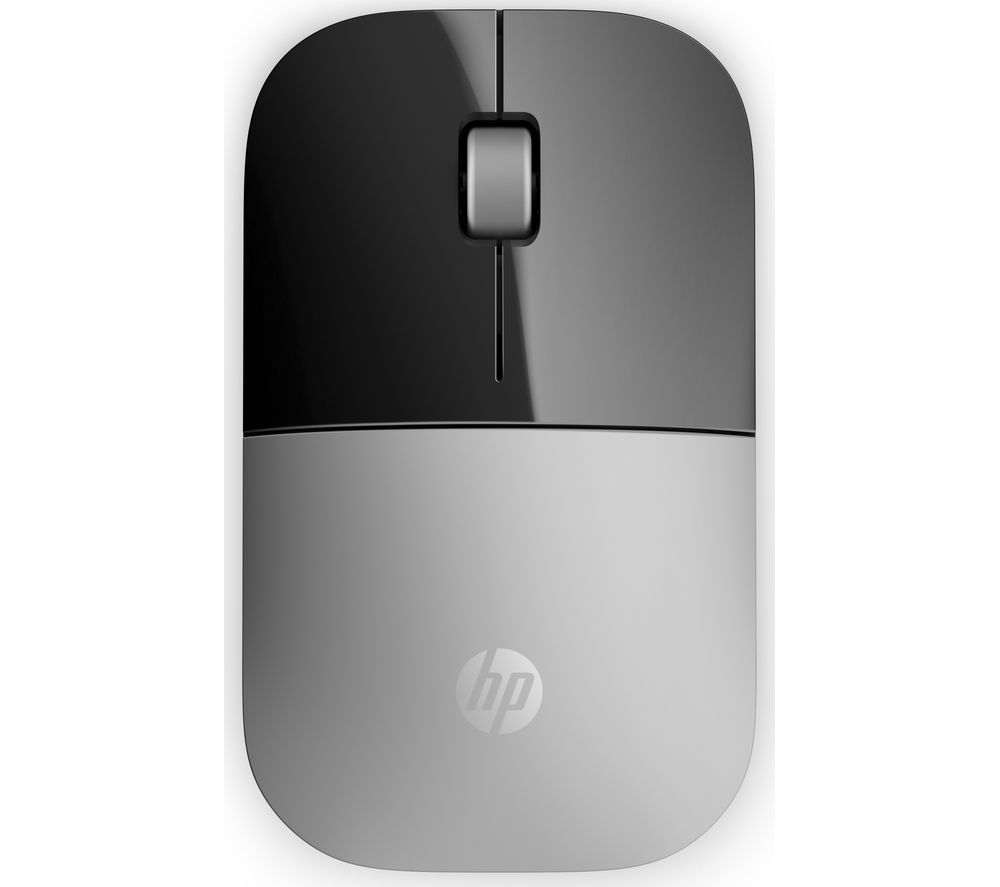 Image of HP Z3700 Wireless Optical Mouse - Silver