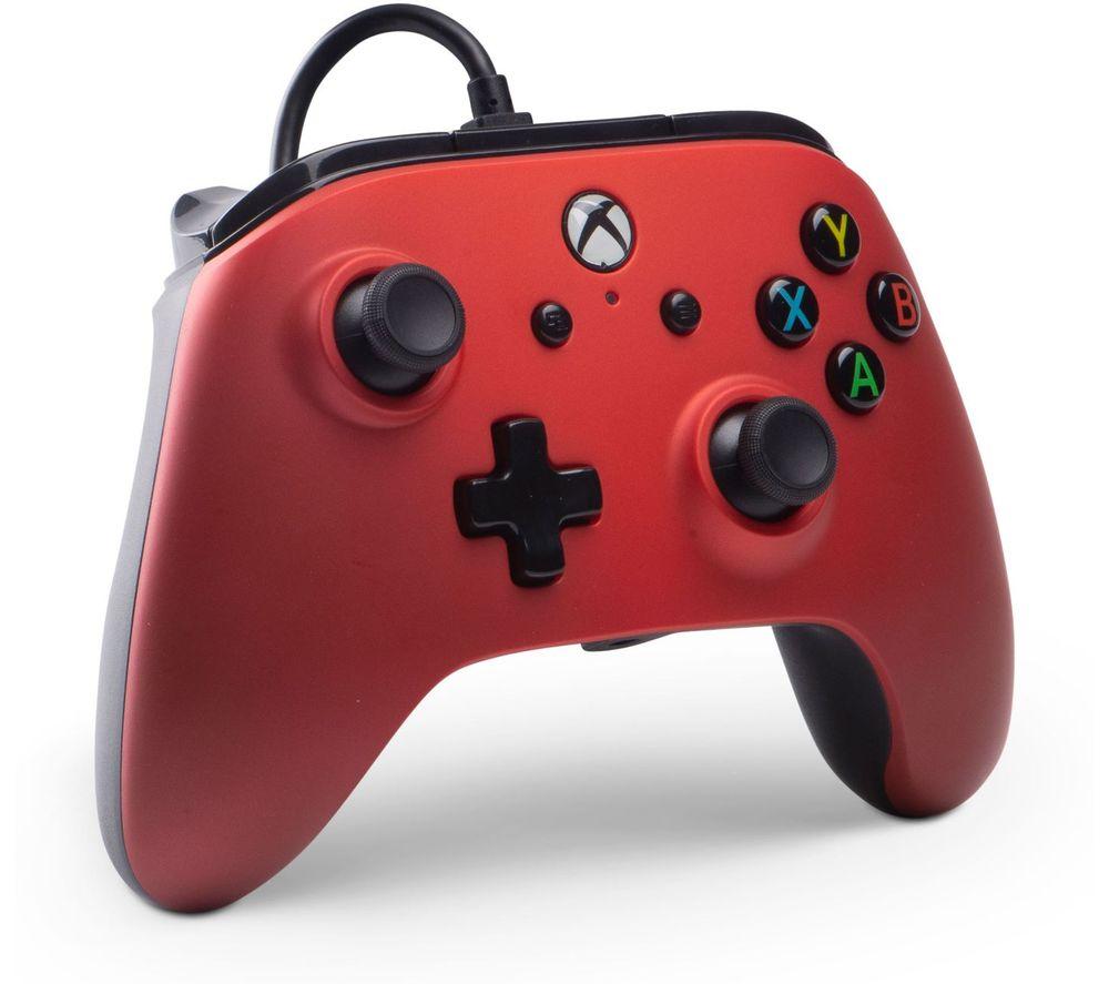 POWERA Xbox One Enhanced Wired Controller - Crimson Fade