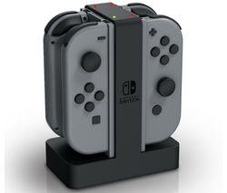 Nintendo Switch Joy-Con Charging Station - Black & Grey