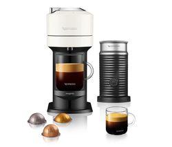 by Magimix Vertuo Next & Milk Coffee Machine - White