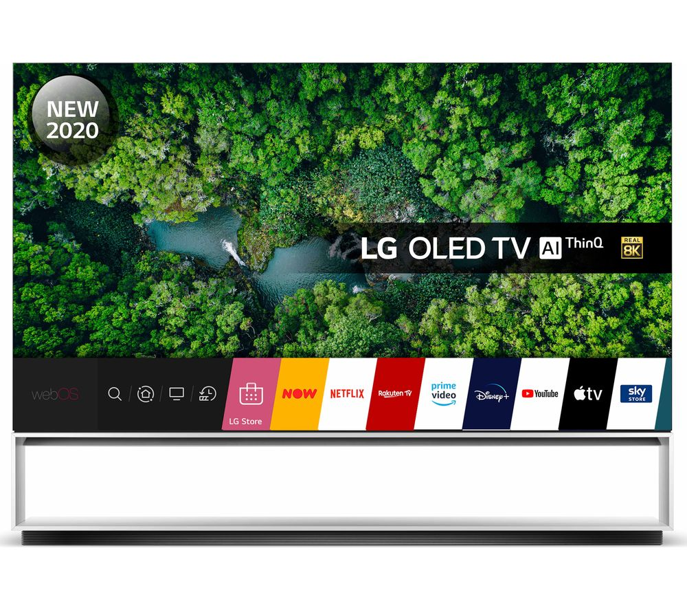 "LG OLED88ZX9LA 88"" Smart 8K HDR OLED TV with Google Assistant & Amazon Alexa"