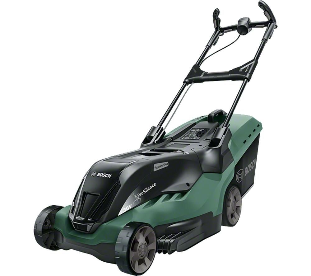 BOSCH AdvancedRotak 36-650 Cordless Rotary Lawn Mower - Green & Black, Green
