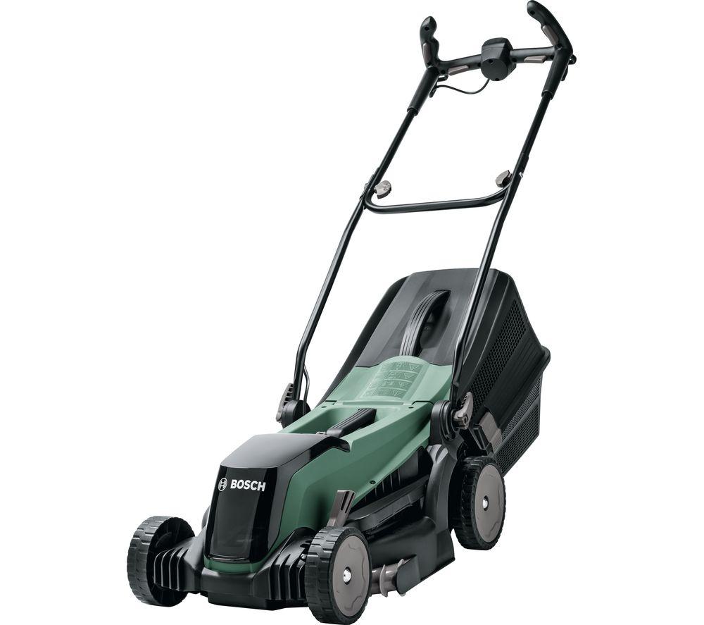 BOSCH EasyRotak 36-550 Cordless Rotary Lawn Mower - Green & Black
