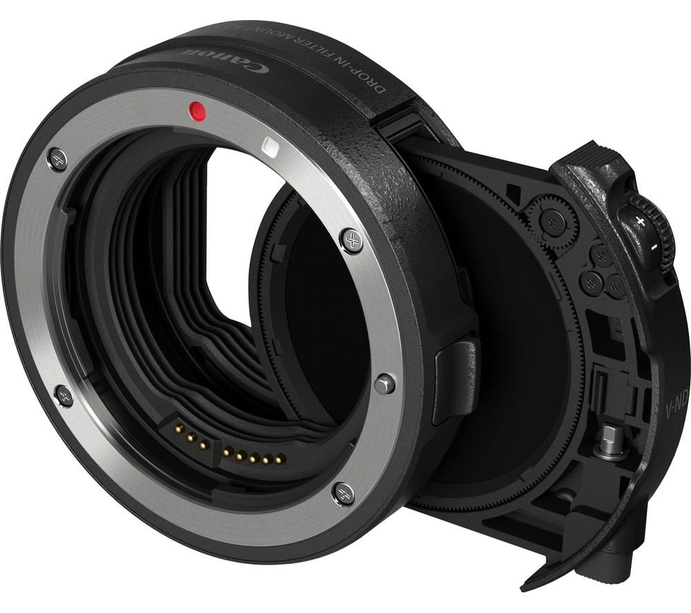 CANON EF-EOS R Drop-in Filter Mount Adapter with Drop-in Variable ND Filter A