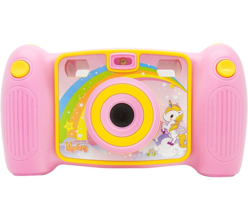 Click to view product details and reviews for Easypix Kiddypix Mystery Compact Camera Pink Yellow Pink.
