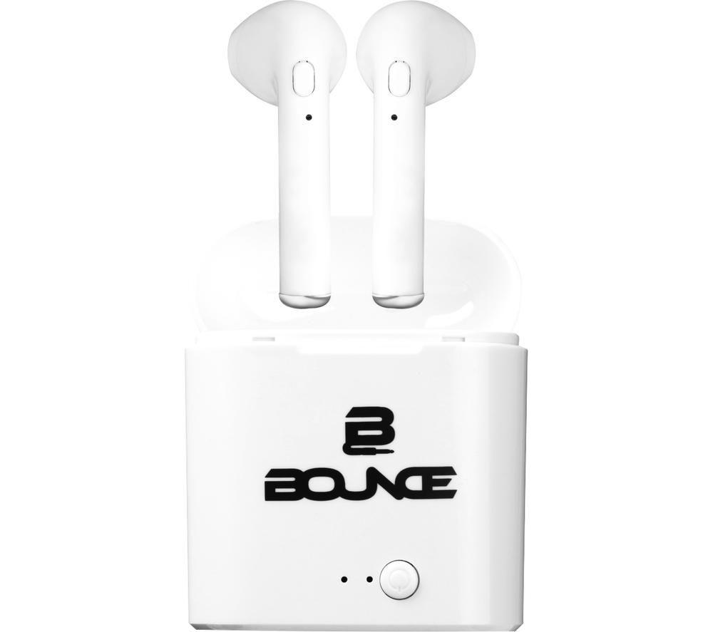 BOUNCE Clef Series BO-1111-WT Wireless Bluetooth Earphones - White