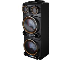Vibes A58123 Portable Bluetooth Party Speaker - Black