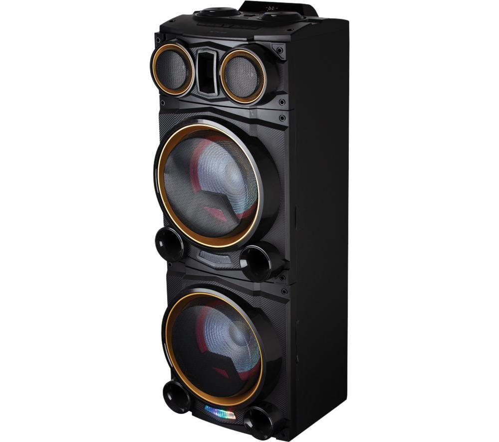 AKAI Vibes A58123 Portable Bluetooth Party Speaker - Black, Black