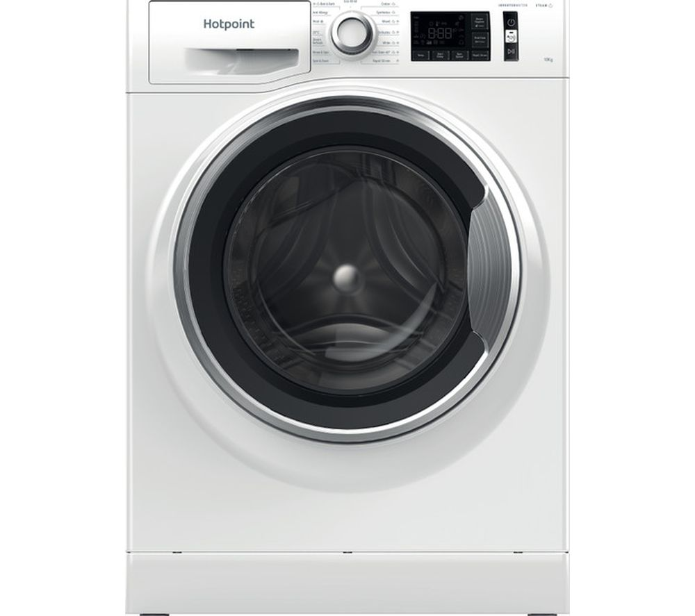 HOTPOINT ActiveCare NM11 1044 WC A UK N 10 kg 1400 Spin Washing Machine - White, White