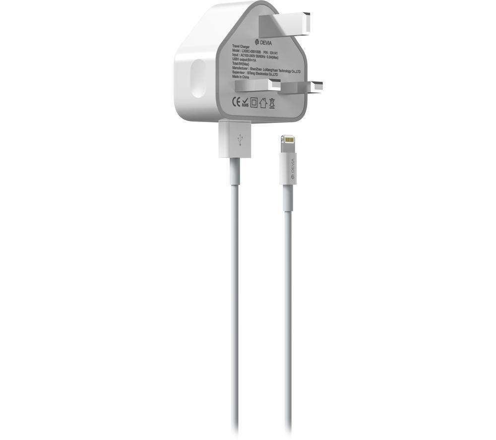 Image of DEVIA Lightning Plug Charger - 1 m