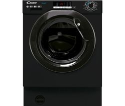 CANDY CBW49D2BBE Integrated 9 kg 1400 Spin Washing Machine - Black