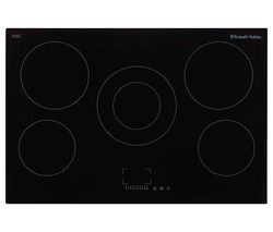 RUSSELL HOBBS RH77EH6001 Electric Ceramic Hob - Black Best Price, Cheapest Prices