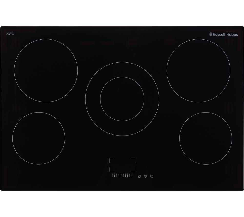 RUSSELL HOBBS RH77EH6001 Electric Ceramic Hob - Black