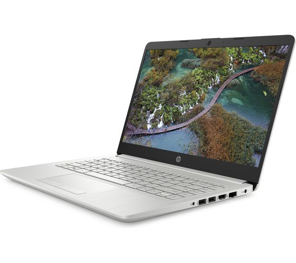 """2R6Z1EA#ABU - HP 14-cf2508sa 14"""" Laptop - Intel® Core™ i3, 256 GB SSD,  Silver - Currys Business"""