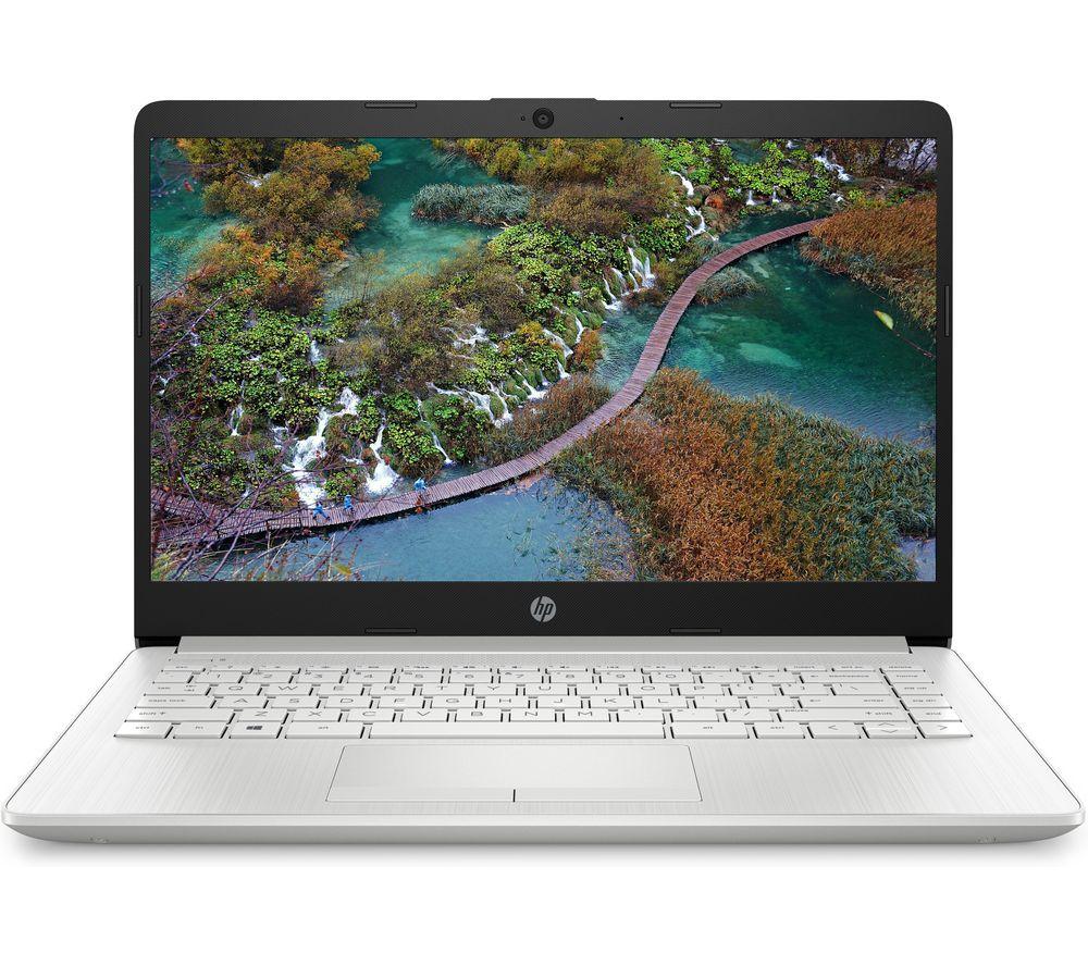 "HP 14-cf2508sa 14"" Laptop Intel Core i3 256GB SSD Silver - Currys   eBay"
