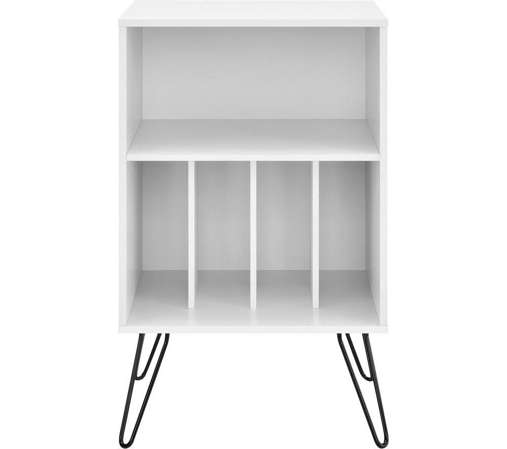 DOREL HOME Concord 1324015COMUK Turntable Stand - White