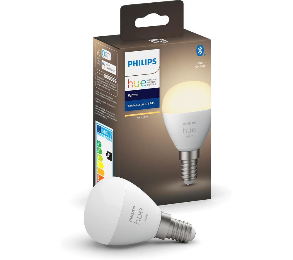 PHILIPS HUE White Bluetooth LED Bulb - E14