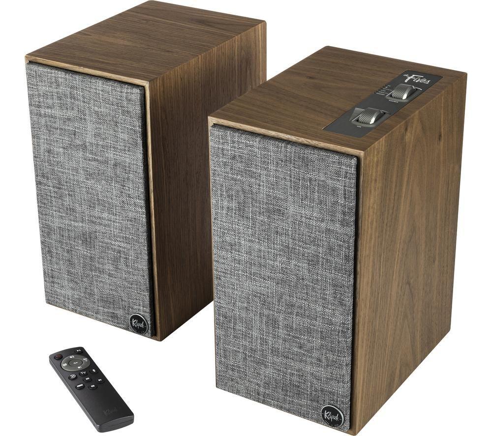 KLIPSCH The Fives Bluetooth Speakers - Walnut