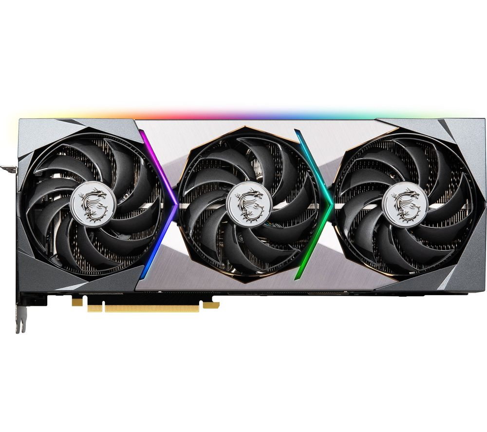 MSI GeForce RTX 3090 24 GB SUPRIM X Graphics Card