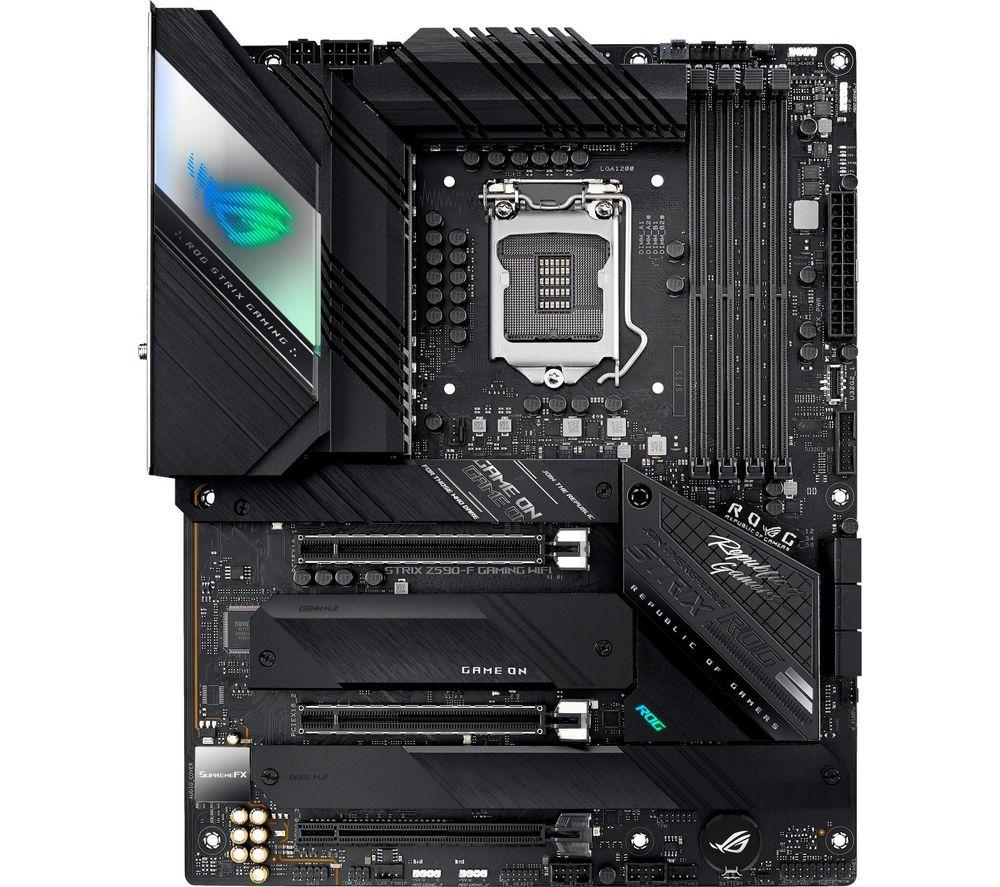 Image of ASUS ROG STRIX Z590-F GAMING WIFI LGA1200 Motherboard