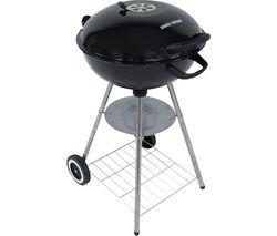 GFKTBBQ1801B Portable Kettle Charcoal BBQ - Black
