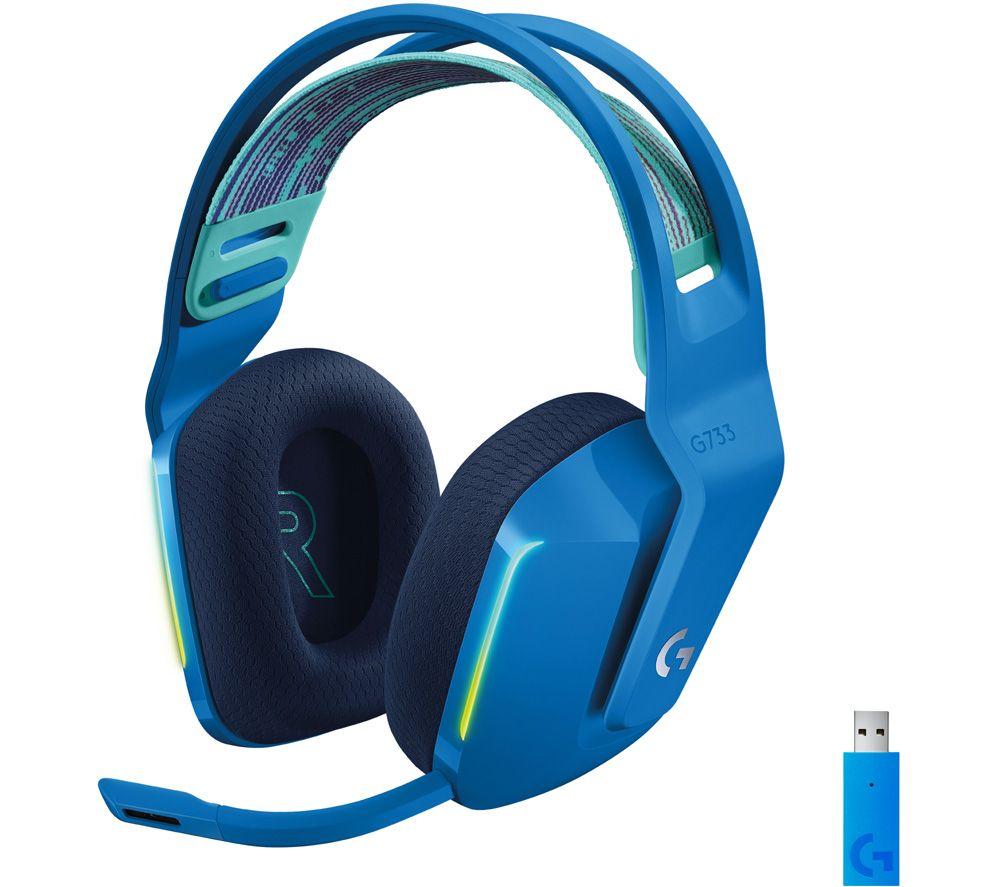 LOGITECH G733 LIGHTSPEED Wireless Gaming Headset - Blue