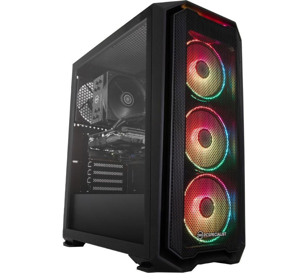 Image of PCSPECIALIST Tornado R5 Gaming PC - AMD Ryzen 5, GTX 1660 Super, 1 TB HDD & 512 GB SSD