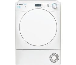 Smart KSE C8LF NFC 8 kg Condenser Tumble Dryer - White