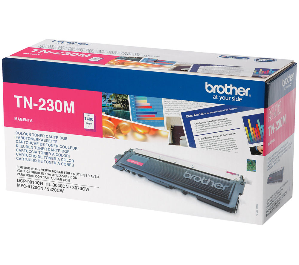 BROTHER TN230M Magenta Toner Cartridge