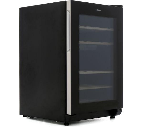buy haier ws25ga wine cooler black free delivery currys. Black Bedroom Furniture Sets. Home Design Ideas