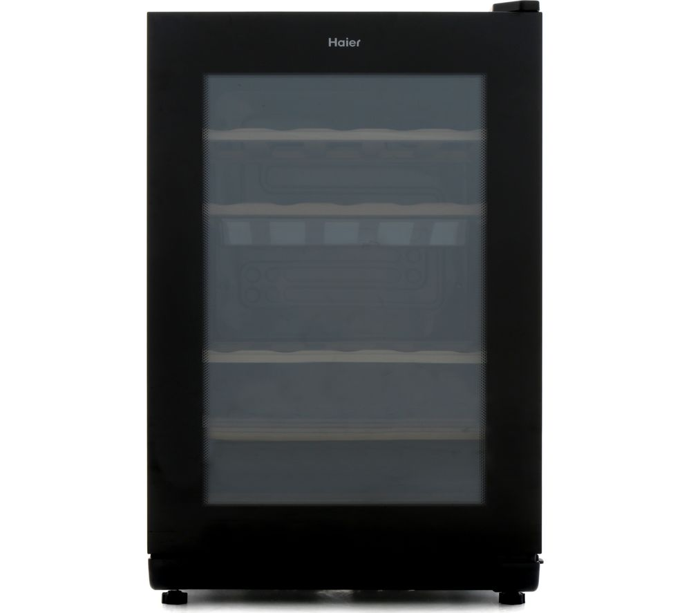 HAIER WS25GA Wine Cooler - Black
