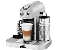 NESPRESSO 11335 Nespresso GranMaestria Coffee Machine & Aeroccino - Silver