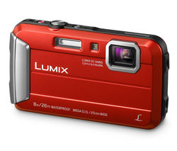 Lumix DMC-FT30EB-R Tough Compact Camera - Red
