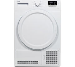BEKO DCX83100W Condenser Tumble Dryer - White