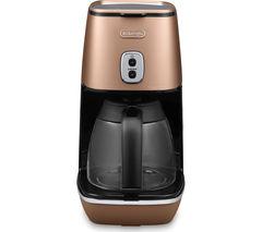 DELONGHI Distinta ICMI211.CP Coffee Maker - Copper