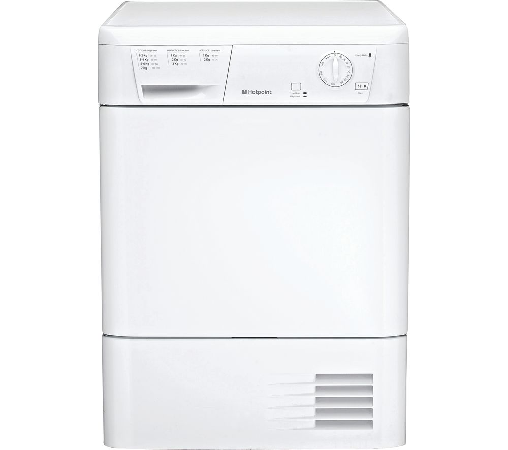 Compare prices for Hotpoint Aquarius FETC70BP Condenser Tumble Dryer