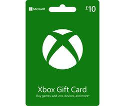 Xbox Live Gift Card - £10